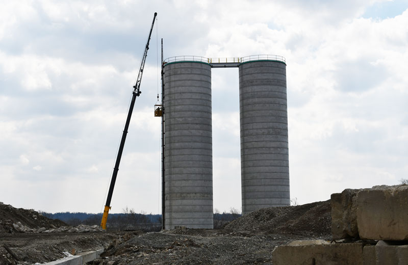 City Concrete silo project